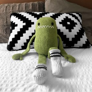 made by Adrian Rae • XL Sock Monsters