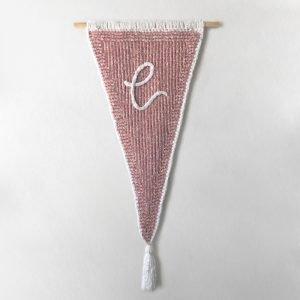 made by Adrian Rae • Velvet Custom Letter Banner