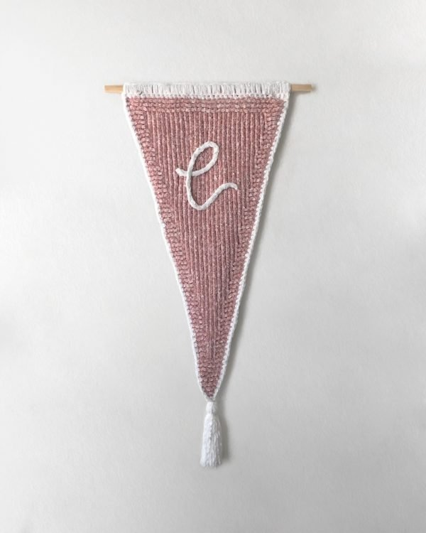 made by Adrian Rae • Velvet Custom Letter Banner